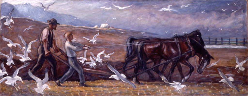 Mahonri Young, Plowing Valley of the Great Salt Lake