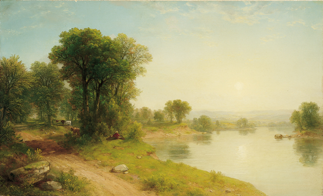 "Asher Brown Durand, ""Landscape"""