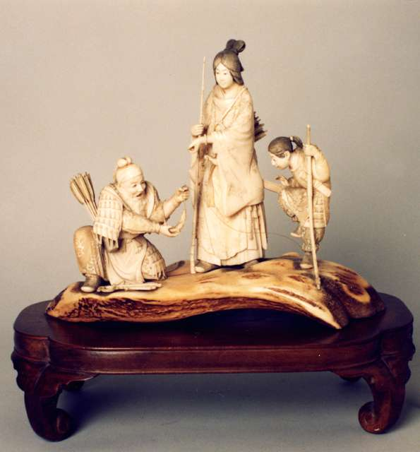 Figural Group, 19th Century