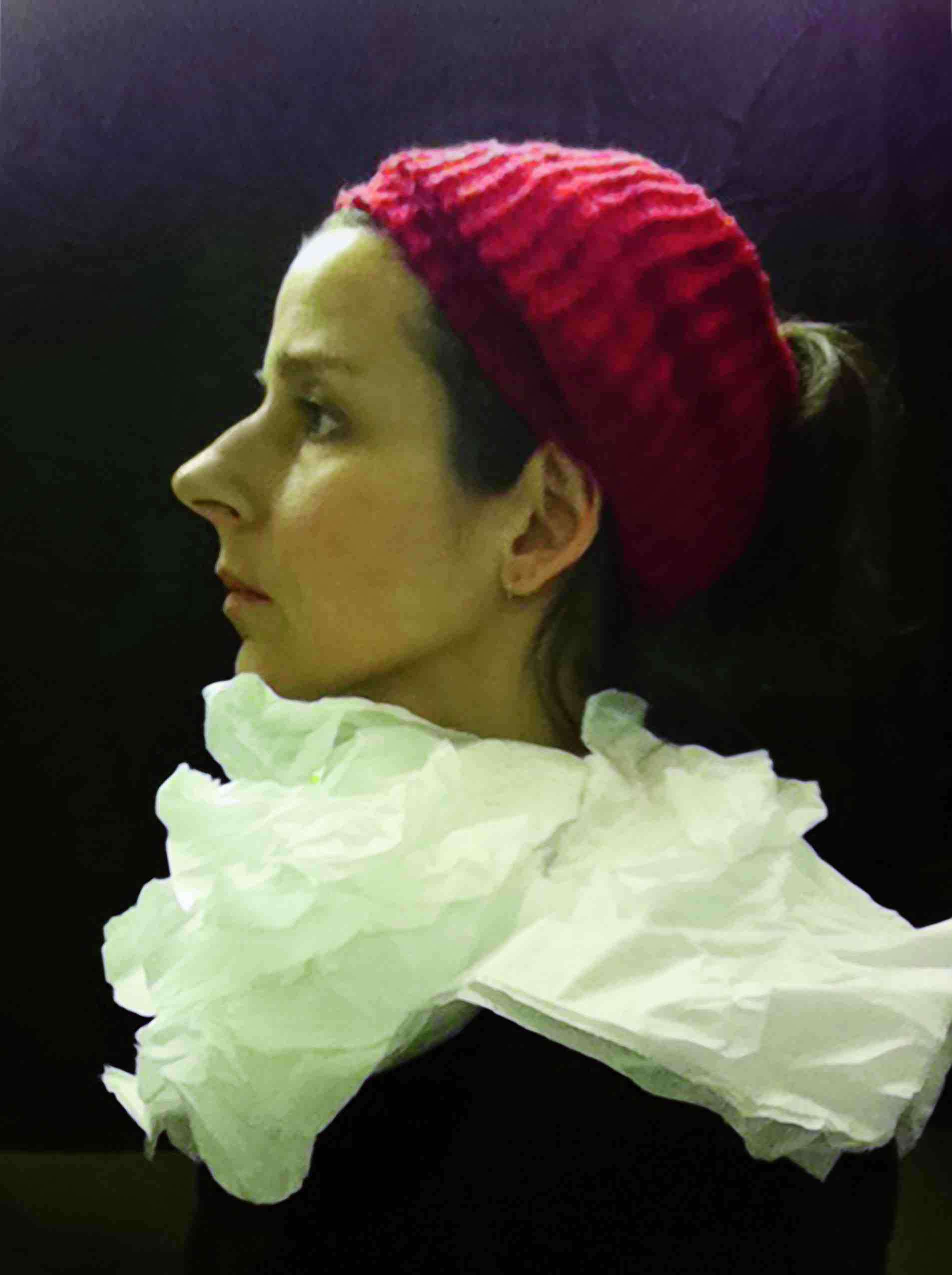 "Nina Katchadourian, ""Lavatory Self-Portrait in the Flemish Style #5,"""