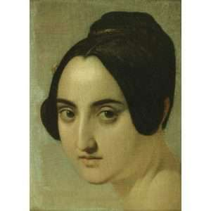 Ingres, Manner of Portrait of a Woman
