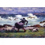 "Mahonri Young, ""Ouessant Shepherdess,"" 1928."