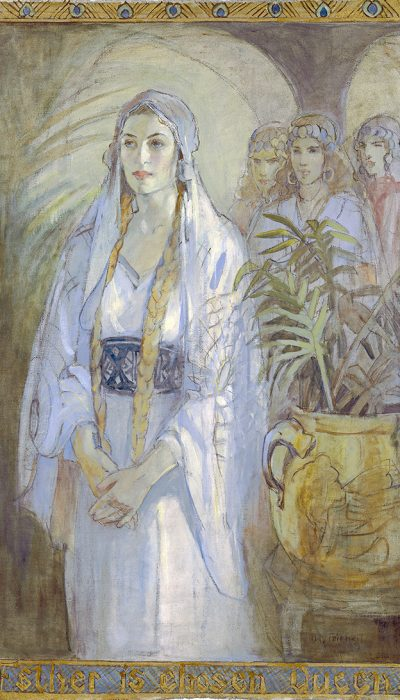 "Minerva Teichert, ""Queen Esther"""