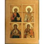 russian-icon-four-part-icon-two-virgins