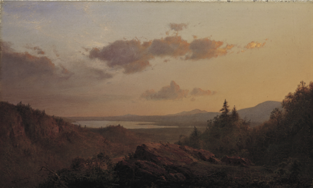 Frederick Edwin Church, View of the Hudson River Valley from Olana
