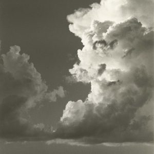 "Dorothea Lange, ""Sky and Clouds, Gunlock, Utah,"" 1953, photograph"