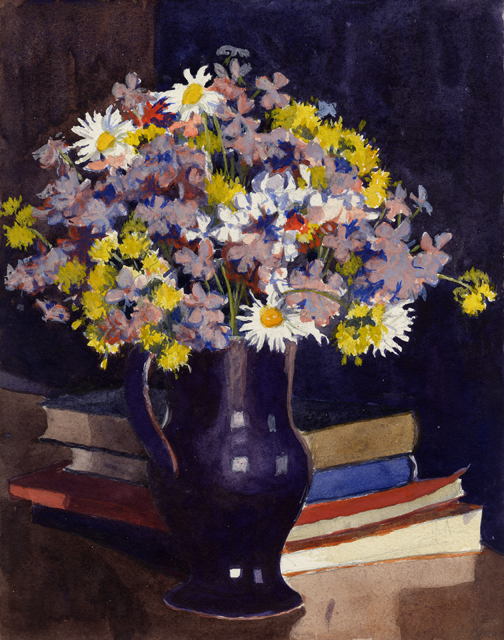 Dorothy Weir Young, Vase of Wild Flowers
