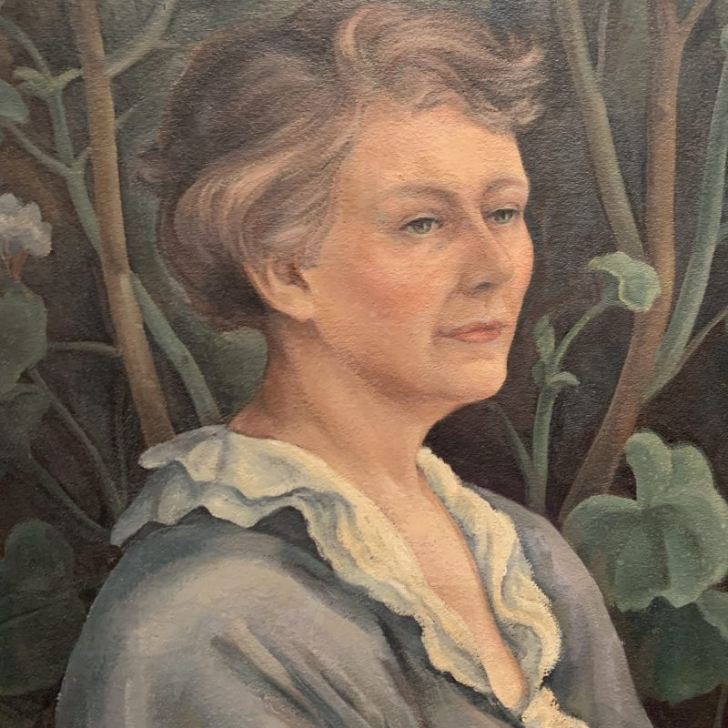 Edith Hamlin, Portrait of the Artist's Mother