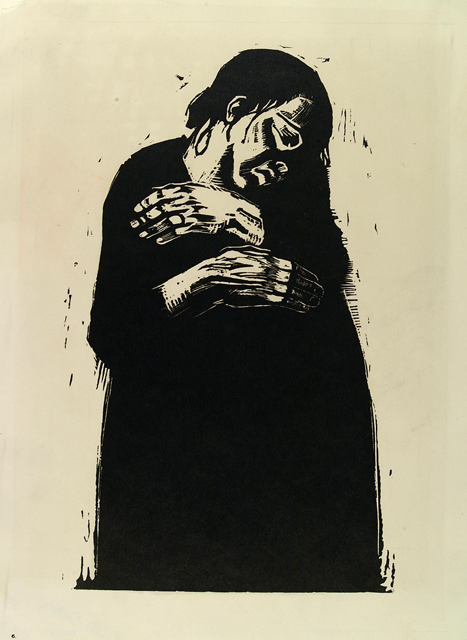 Kathe Kollwitz, The Widow I