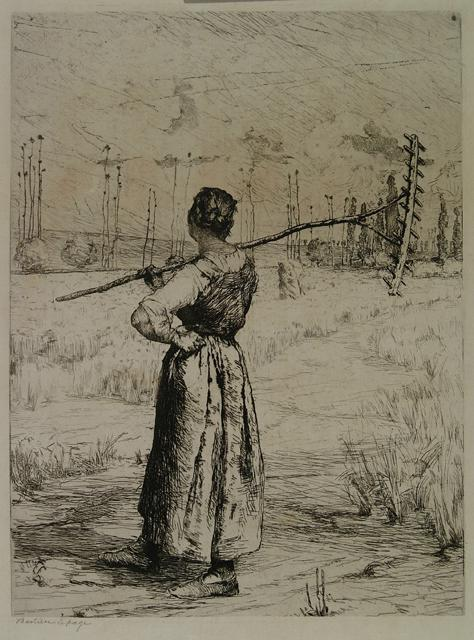 woman-with-rake